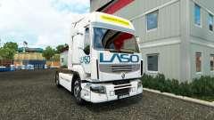 Скин LASO на тягач Renault