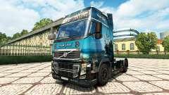 Скин Black Pearl на тягач Volvo