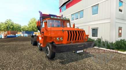 Урал-43202 v2.0 для Euro Truck Simulator 2
