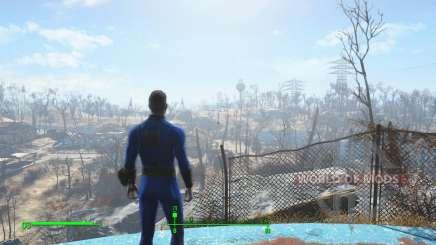Сохранение перед выходом из убежища для Fallout 4