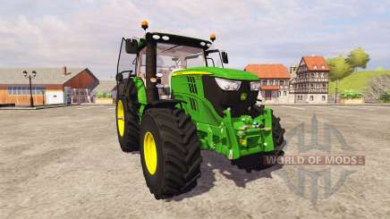 John Deere 6210R v2.6 для Farming Simulator 2013