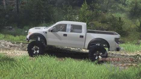 Ford Raptor SVT [08.11.15] для Spin Tires