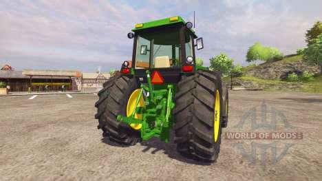 John Deere 4455 v2.0 для Farming Simulator 2013