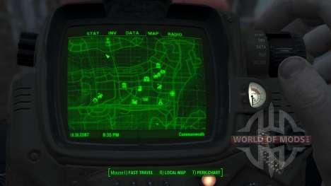 Immersive Map 4k - TERRAIN - Full Squares для Fallout 4