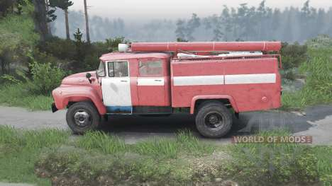 ЗиЛ-130 АЦ-40 [08.11.15] для Spin Tires