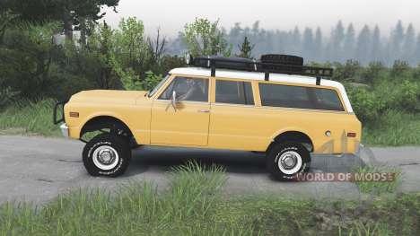 GMC Suburban 1972 [08.11.15] для Spin Tires
