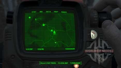 Immersive Map 4k - VANILLA - Full Squares для Fallout 4