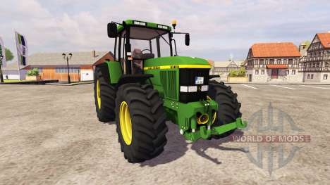 John Deere 7810 v2.0 для Farming Simulator 2013