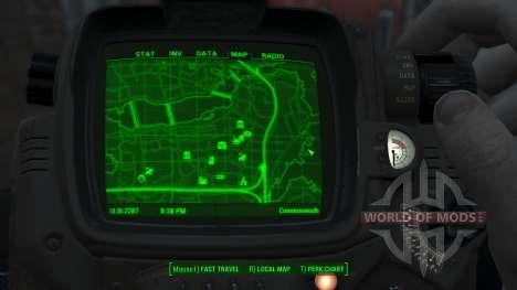 Immersive Map 4k - BLUEPRINT - Big Squares для Fallout 4