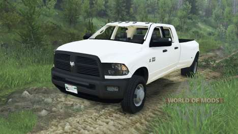 Dodge Ram 3500 dually v1.2 [08.11.15] для Spin Tires