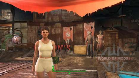 Calientes Beautiful Bodies Enhancer - NN Vanill для Fallout 4