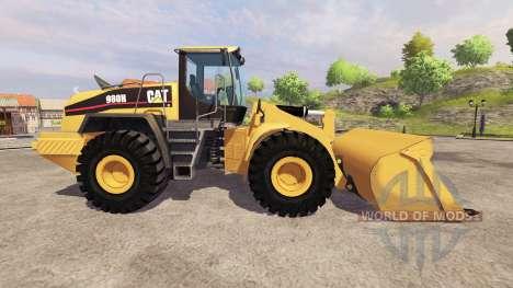 Caterpillar 980H для Farming Simulator 2013