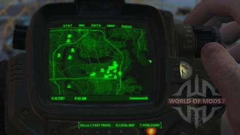 Улучшенная карта для Fallout 4