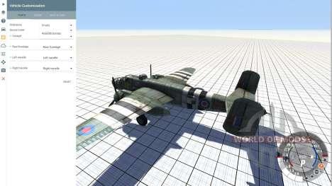 B-25 Mitchell v.1.01 для BeamNG Drive