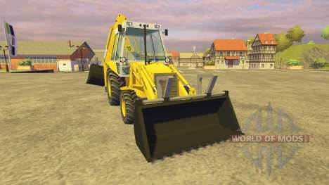 JCB 3CX v2.1 для Farming Simulator 2013