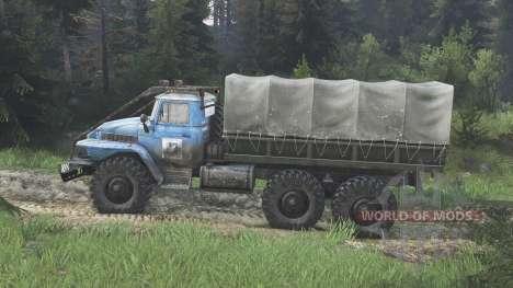 Урал-375 [blue] [08.11.15] для Spin Tires