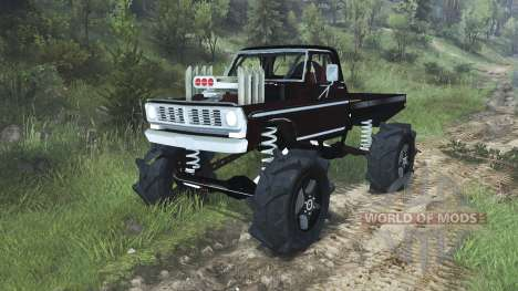 Ford F-100 для Spin Tires