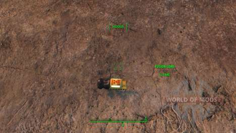 Fusion Core Retexture для Fallout 4