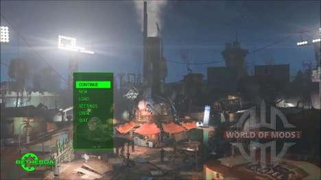 Time Lapse Main Menu Replacer для Fallout 4