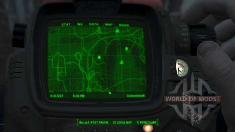 Immersive Map 4k - TERRAIN - Big Squares для Fallout 4