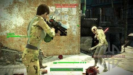 Multi-cam Vault Suit Re-texture для Fallout 4