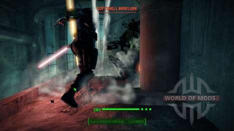Световые мечи из Звёздных Войн для Fallout 4