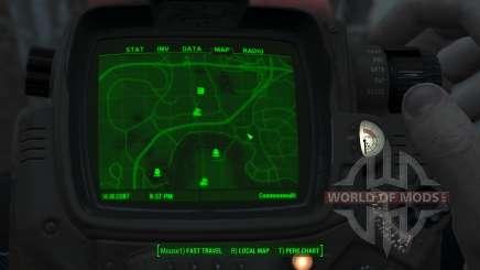 Immersive Map 4k - VANILLA - Big Squares для Fallout 4