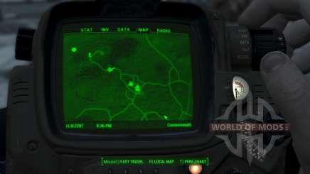 Immersive Map 4k - TERRAIN - No Squares для Fallout 4