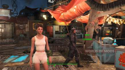 Calientes Beautiful Bodies Enhancer - NN Slim для Fallout 4