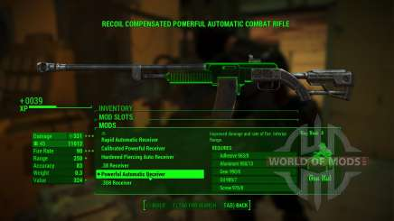 Overpowered Weapon mods для Fallout 4