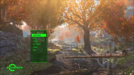 Time Lapse Main Menu Replacer для Fallout 4