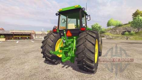John Deere 4455 v2.1 для Farming Simulator 2013