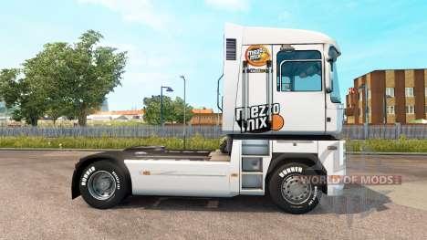 Скин Mezzo Mix на тягач Renualt для Euro Truck Simulator 2