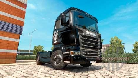 Скин Haudegen на тягач Scania для Euro Truck Simulator 2