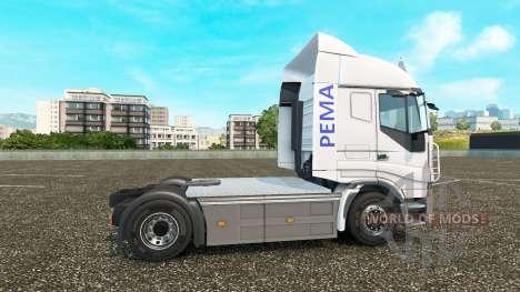 Скин Pema на тягач Iveco для Euro Truck Simulator 2