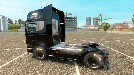 Скин Форсаж 6 на тягач Scania для Euro Truck Simulator 2
