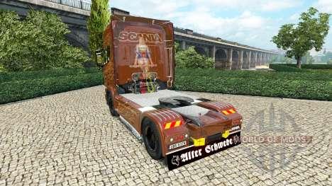 Scania R Black Amber v2.5 для Euro Truck Simulator 2