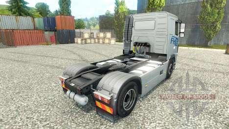 Скин Hartmann Transporte на тягач Volvo для Euro Truck Simulator 2