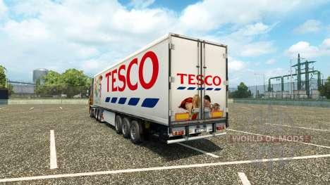 Скин Tesco на полуприцеп для Euro Truck Simulator 2