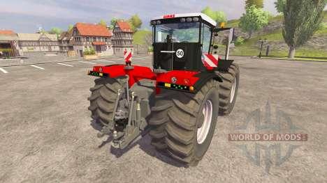 CLAAS Xerion 5000 [red] v1.1 для Farming Simulator 2013