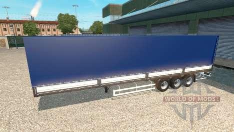 Полуприцеп Тонар v1.5 для Euro Truck Simulator 2