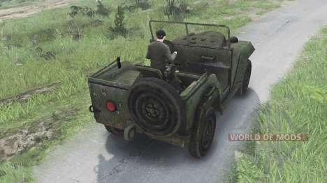 ГАЗ-67 [08.11.15] для Spin Tires