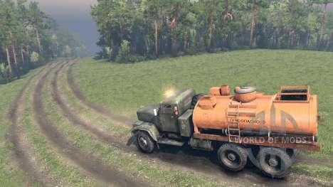 Карта ХМАО Финальная версия для Spin Tires