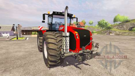 CLAAS Xerion 5000 [red] v1.1 для Farming Simulator 2013