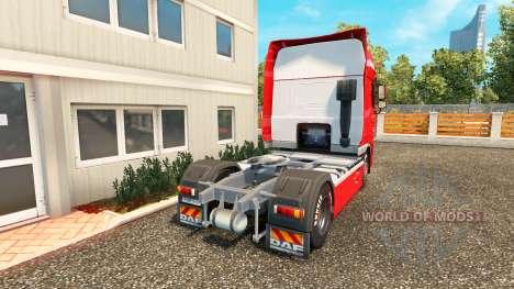 Скин Hasseroeder на тягач DAF для Euro Truck Simulator 2