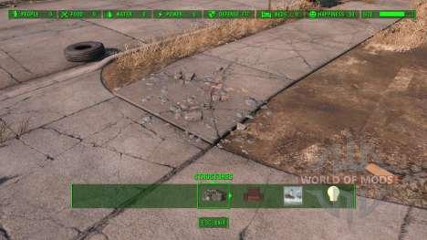 Полная очистка территории для Fallout 4