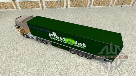 Скин PietSmiet на полуприцеп для Euro Truck Simulator 2