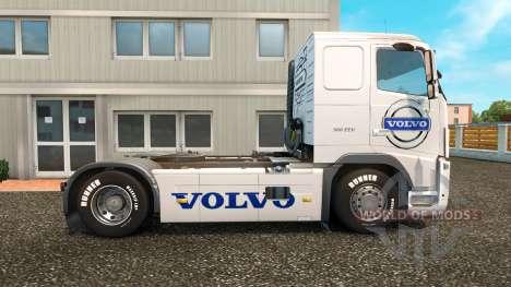 Скин Volvo Trucks на тягач Volvo для Euro Truck Simulator 2