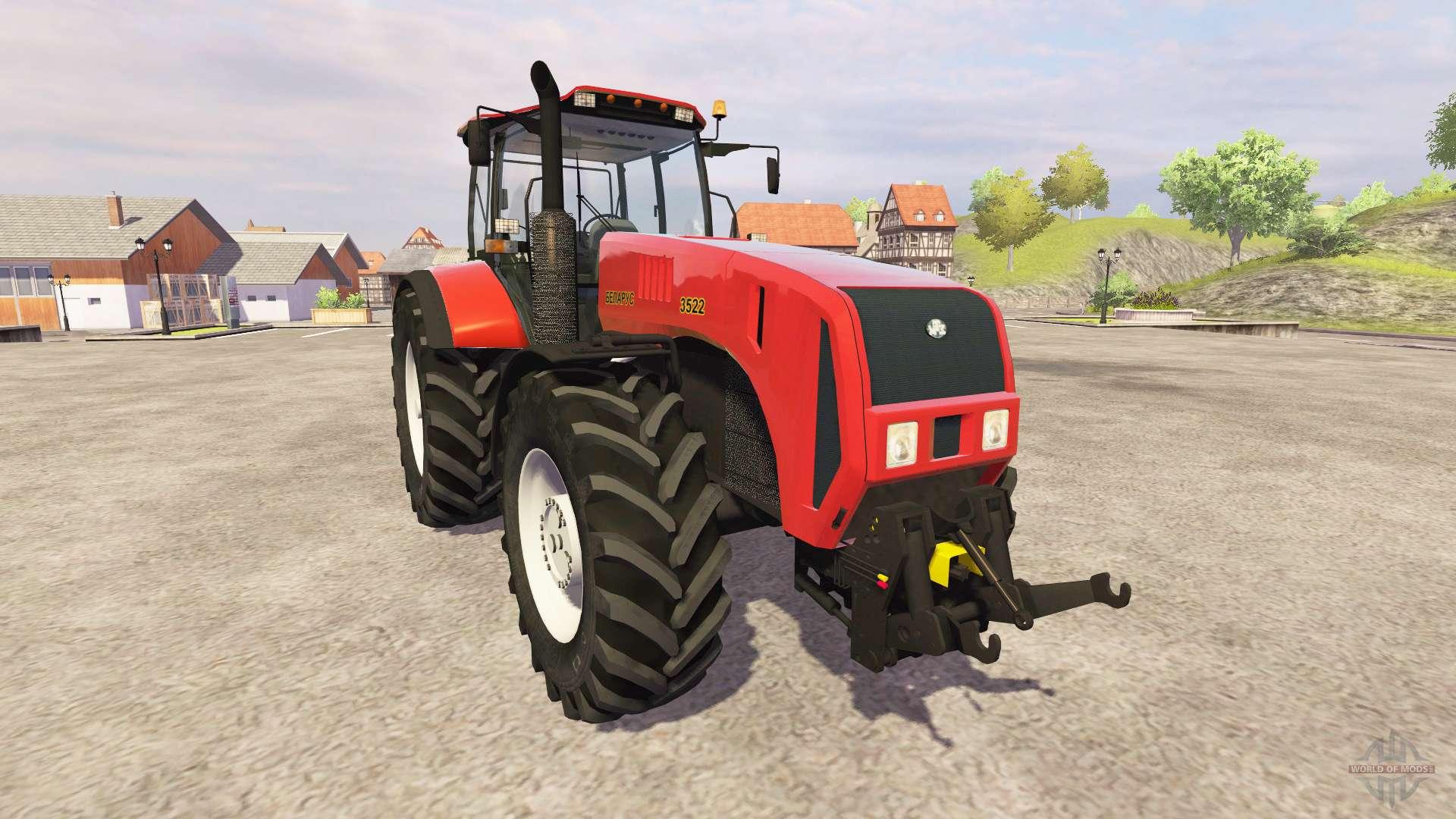 МТЗ 3522 - трактор Беларус 3522