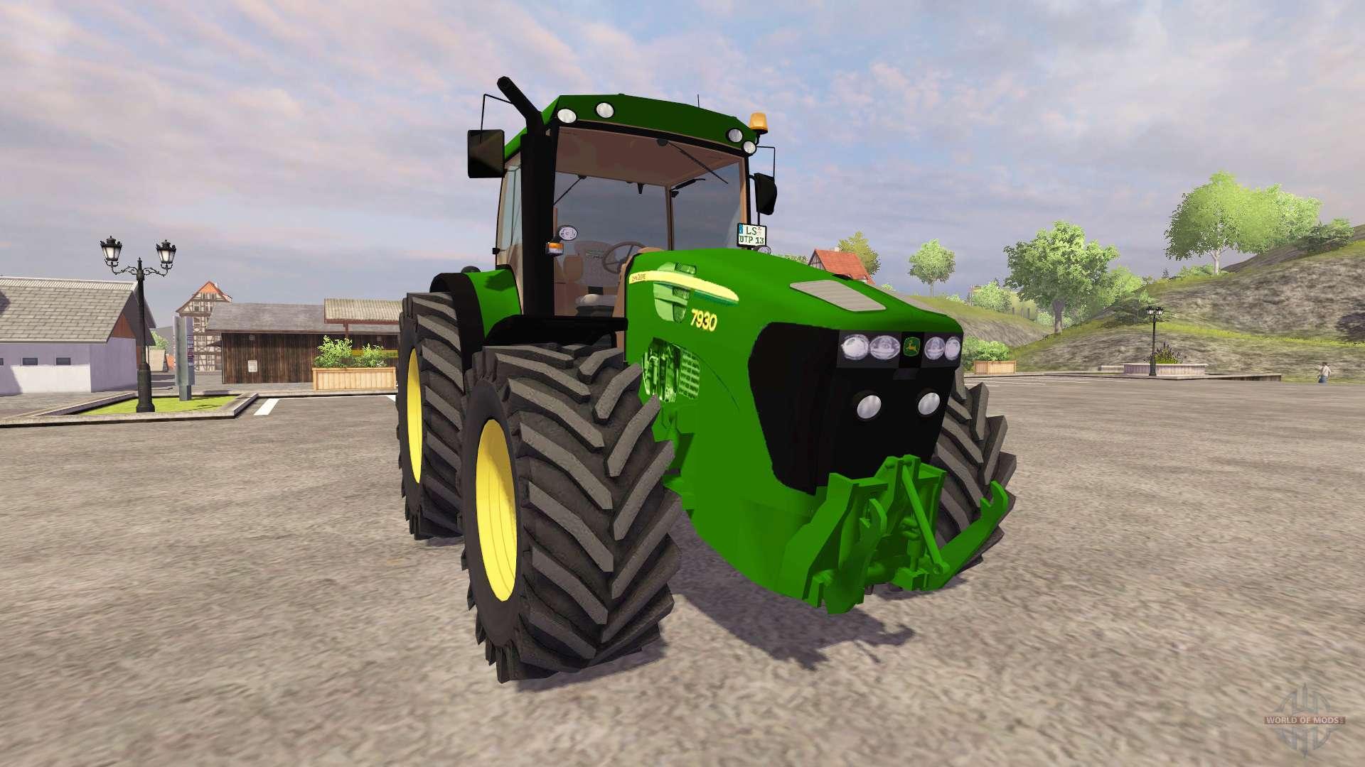 Трактор John Deere 7930 - YouTube